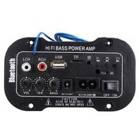 50W Bluetooth Auto Subwoofer Hi-Fi Basso Amplificatore Stereo Scheda MP3 Audio
