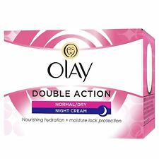 OLAY DOUBLE ACTION NORMAL/DRY NIGHT CREAM - 50ML