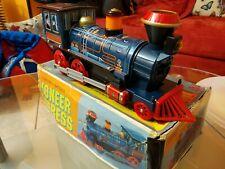 Rarissimo treno locomotiva lungo 39cm In Latta Anni 60 Made in Japan collezione