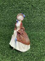 ROYAL DOULTON FIGURINE 'PAISLEY SHAWL' HN1988 - Beautiful Vintage Figurine