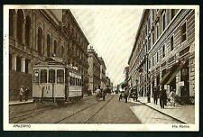 Palermo : Via Roma - viaggiata nel 1927