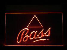 J344R Bass Beer For Pub Bar Display Light Sign
