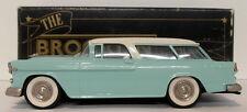 Brooklin 1/43 Scale BRK26A 002  - 1955 Chevrolet Nomad Estate Light Blue