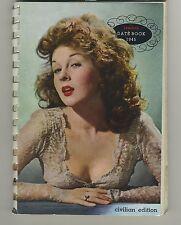 (51) Esquire's 1945 DATE BOOK Civilian Edition (Pin up Varga-Bette Davis-Earl...