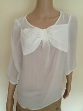 Unbranded 3/4 Sleeve Collarless Tops & Shirts for Women