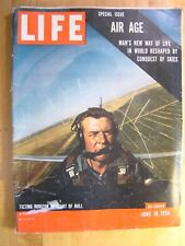Life Magazine June 18 1956  Air Age Helicopter Air Force's Front Line Planes