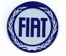 Fiat Drink Coaster Mat Traditional Badge New 500 Panda Cross Tipo Coupe