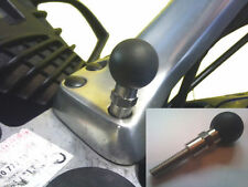 "BMW R1200RT sat nav mount gps 25mm 1"" ball-inoxydable mount soft grip"