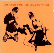We Love You... So Love Us Three (RARE BANKSY ARTWORK) [New & Sealed] CD