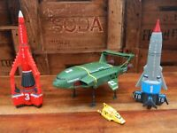 Thunderbirds Are Go Ship Vehicle Bundle Thunderbird 1 2 3 and 4 with Sounds