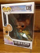 FUNKO POP! Disney Cinderella GUS GUS IN SLIPPER #139 Vinyl Figure *Brand New*