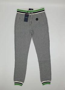 Armani Jeans AJ Grey Joggers Lounge Comfort Wear Gym UK XL Drawstring Pockets