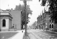 "1906 Wall Street, Kingston, New York Old Photo 13"" x 19"" Reprint"