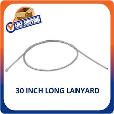 500 Security Lanyard 30 Inch Long Wire Ball & Point For Retail Hard Tags