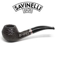 NEW Savinelli -  Joker Rusticated Pipe - 673 - 6mm Filter