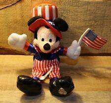 Disney Disney Store Pluto Patriotic Beanie American Usa Flag Plush Uncle Sam Hat Toys & Hobbies