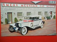 POSTCARD SMOKY MOUNTAIN CAR MUSEUM - 1930 CORD L 29