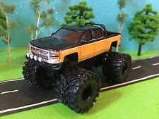 1/64 Custom G5 Lift Kit, Chevrolet Silverado, quad cab, Roll Bar, Fog Lights