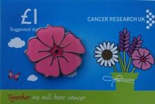 Cancer Research Charity Pin Badge