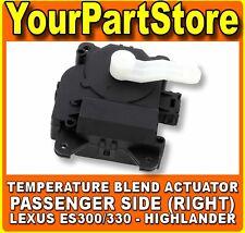 Heater Ac Air Vent Right Temperature Blend Door Actuator Motor for Toyota Lexus
