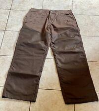 Cabelas Upland Hunting Pants Men's 32/32 Brown Nylon Reinforced 943504 Used