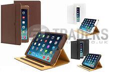 09-magnetico Pelle Elegante Cover Custodia A Libretto per iPad 2,3,4,Mini,iPad 5