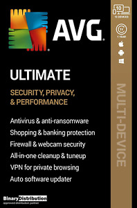 AVG Ultimate 2020 - 10 Devices - 1 year