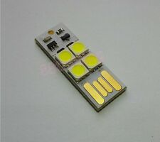 MINI PORTABLE USB LED LIGHT FOR READING CAMPING PARTY OUTDOOR EMERGENCY + ON OFF