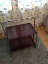 Original 1950's Vintage Retro  Folding Tea Trolley