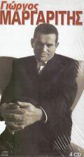 Margaritis Giorgos - Anthology 68 songs ΜΑΡΓΑΡΙΤΗΣ ΓΙΩΡΓΟΣ 4CD BOX SET/NEW