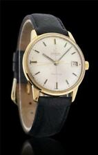 Omega Seamaster Cal. 565 Solid 18k Yellow Gold Automatic Watch 166.001