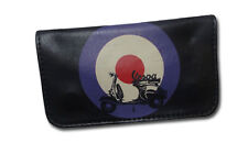 Tobacco Case Pouch Synthetic Leather Wallet Bag Rolling Smoke Vespa Piaggio
