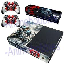 Gears of War 4 Vinyl Skin Decals Stickers for Xbox One Console Kinect Controller