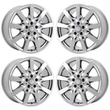 "18"" MERCEDES CL550 S550 S600 PVD CHROME WHEELS RIMS FACTORY OEM SET 65465"