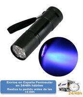 Linterna lampara luz ultravioleta led iluminacion fluorescente (Envio express)