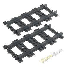 Lego ® ferrocarril RC-raíles precisamente 2 trozo de nuevo 53401 Train track Straight