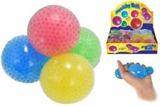❤️Squishy Mesh Bead Ball Squeeze Stress Reliever Kids Child Toy Gift Party 7cm