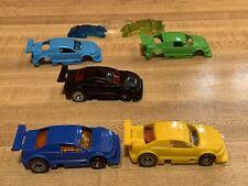 "Ideal Tcr Slotless Lot Of Custom ""Amazoom� Brazilian Stock Cars Mk2 Chassis"
