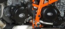 R&G Engine Case Cover PAIR KTM 690 Duke 2012- / R 2013- Husqvarna 701 KEC0049BK