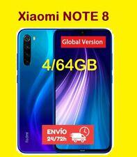 4/64GB Xiaomi Redmi Note 8 Movil libre Smartphone VERSION GLOBAL