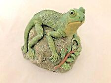 """Green 4X4.5"""" Lizzard Gecko Figurine Key Safe"""