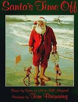 Santa's Time Off  (ExLib) by Bill Maynard