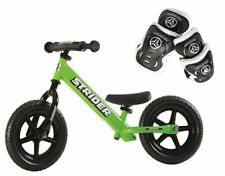 Strider 12 Sport Balance Learning Bike w/ Protection Elbow and Knee Pad Set