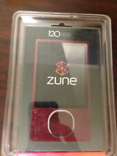 New! Sealed! Microsoft Zune 120 Red (120 GB) Digital Media Player
