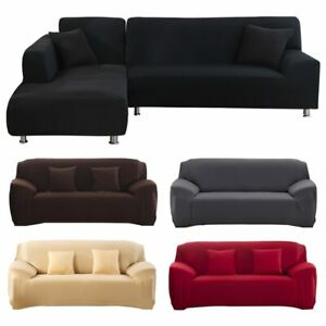 Universal Sofa Cover High Elasticity Non-slip Couch Slipcover Polyester
