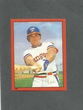 1982 O-Pee-Chee Baseball Sticker Bump Willis #244 Texas Rangers *MINT*