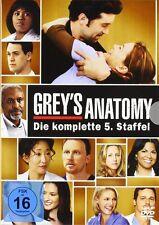 GREYS ANATOMY DIE JUNGEN ÄRTZTE DIE KOMPLETTE DVD STAFFEL 5 DEUTSCH ( GREY'S )