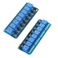 2 Pcs 5V Active Low 8 Channel Relay Module Board for Arduino PIC AVR MCU DSP ARM
