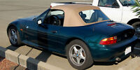 BMW Z3 Convertible Top Tan Stayfast 1996-2002 M Roadster