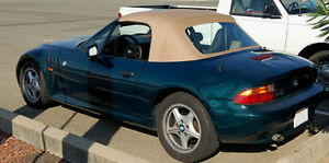 BMW Z3 Convertible Top Bronceado Twillfast 1996-2002 M Roadster